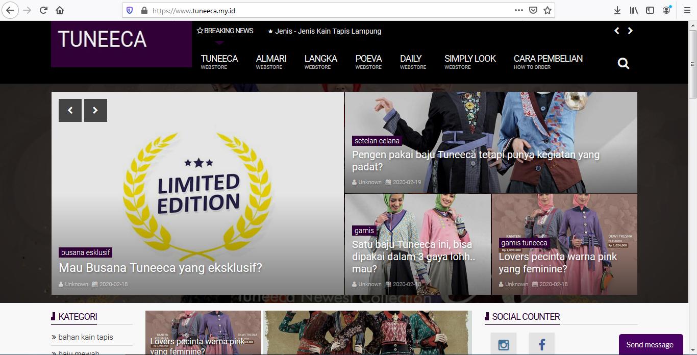 Contoh Blogsite Premium